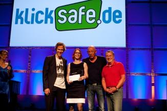 Klicksafe Preis - Verleihung 2014